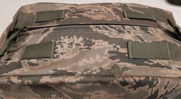 USAF Survivor Vest Sustainment Pouch in ABU camo