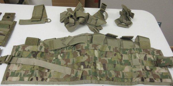 Multicam Tactical Assault Panel (no pouches) - GRADE 1