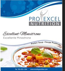 (177) ProExcel Excellent Minestrone Soup - NOT RESTRICTED - IDEAL PROTEIN COMPARABLE