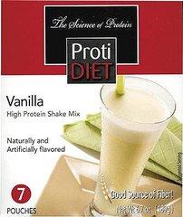 (350929) ProtiDiet Shake - Vanilla (7/Box) = ALTERNATIVE TO IDEAL PROTEIN --- UNRESTRICTED