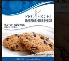 (552) ProExcel Oatmeal Raisin Cookie; UNRESTRICTED - (6 Servings)