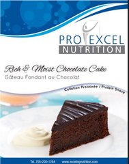 (020) ProExcel Chocolate Cake - - Unrestricted - (7 Servings)