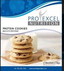 (551) ProExcel Chocolate Chips Cookies - - - Gluten Free - - -UNRESTRICTED - (6 Servings)