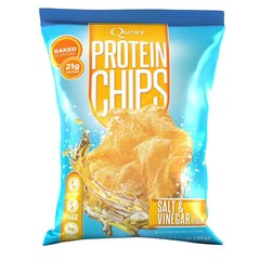 (000258)  Quest Nutrition - Protein Chips - Salt and Vinegar - 1 Bag