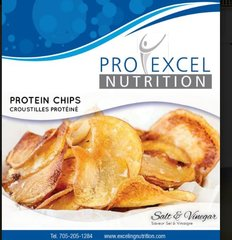 (433) ProExcel Chips - Salt & Vinegar - Unrestricted - (1 Serving)
