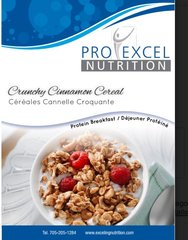 (192) ProExcel Crunchy Cinnamon Cereal - IDEAL PROTEIN COMPARABLE - UNRESTRICTED - (7 Servings)