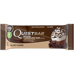 (005345)n Quest Nutrition - Quest Bar - Mocha Chocolate Chip - 1 Bar 4g Carbs