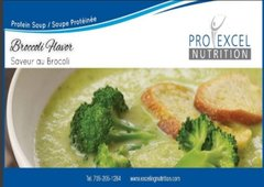 (164) PROEXCEL BROCCOLI SOUP IN A CUP - UNRESTRICTED