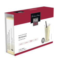 (005287-B) Ready to Drink - Vanilla Milkshake - - -GLUTEN FREE!! - Vanilla Milkshake (4/Box)--- UNRESTRICTED - - - 3 boxes for $40.00