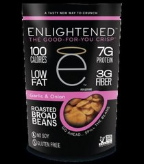 (004614) NEW!! AND I'M IN LOVE WITH IT:  Enlightened Roasted Bean Crisps GARLIC & ONION: RESTRICTED
