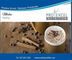 (517) ProExcel Mocha Drink Mix Bottle - Single - UNRESTRICTED