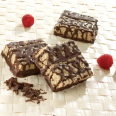 (420028) ProtiDiet Raspberry Dark Chocolate Square = Alternative to Ideal Protein - - - Restricted