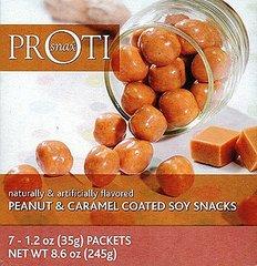 (1593V01) PrOti Peanut Caramel Soy Snacks - RESTRICTED