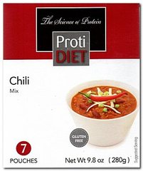 (352701) ProtiDiet Dinner - Chili (7/Box) = ALTERNATIVE TO IDEAL PROTEIN --- UNRESTRICTED - - GLUTEN FREE