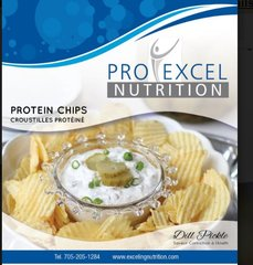 (435) ProExcel Dill Pickle Chips - Unrestricted - (1 Serving)