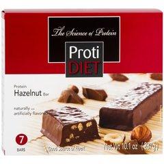 (421018) ProtiDiet Hazelnut Bar - (7/Box) =Alternative to Ideal Protein - Restricted