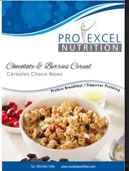 (191) ProExcel Chocolate & Berries Cereal - IDEAL PROTEIN COMPARABLE - UNRESTRICTED - (7 Servings)NOT AVAILABLE UNTIL SEPTEMBER