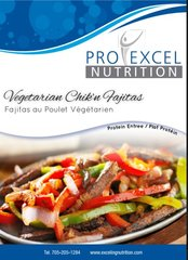 (040) ProExcel Vegetarian Chik'n Fajita - - - UNRESTRICTED