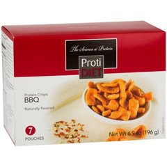 (352800) ProtiDiet Protein Crisps - BBQ (7/Box) = ALTERNATIVE TO IDEAL PROTEIN --- RESTRICTED