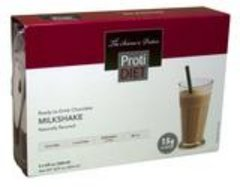 (005270 - A) Ready to Drink - Chocolate Milkshake - - -GLUTEN FREE!!- Chocolate Milkshake (4/Box)--- UNRESTRICTED - - - 3 boxes for $40.00