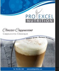(124) ProExcel Classic Cappuccino - -- Gluten FREE - - - UNRESTRICTED