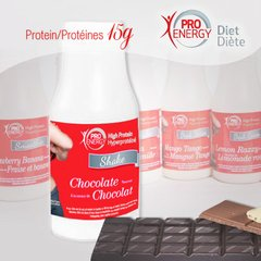 (012031) Pro-Energy Choc. Drink (6/Box) =Alternative to Ideal Protein - UnrestrictedChocolate Drink