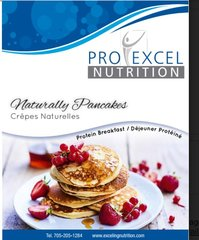 (181) ProExcel Soft Natural Pancakes - UNRESTRICTED - (7 Servings)
