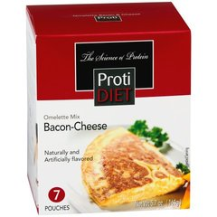 (350646) ProtiDiet Omelette - Bacon & Cheese (7/Box) = ALTERNATIVE TO IDEAL PROTEIN --- UNRESTRICTED