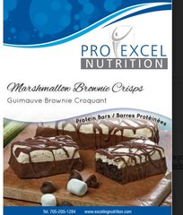 (270) ProExcel Rocky Road Marshmallow Brownies Bar -Restricted - (7 Servings)