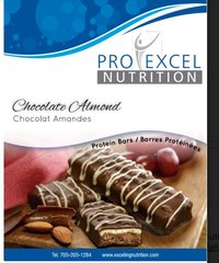 (258) ProExcel Chocolate Almond bar - - - RESTRICTED - (7 Servings)
