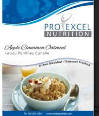 (187) ProExcel Apple & Cinnamon Oatmeal - UNRESTRICTED - (7 Servings)