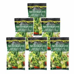 (WF-TYH) (6 packets) Walden Farms - Dressing - Thousand Island -1 fl oz packet