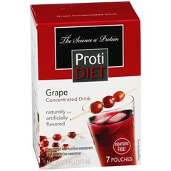 (350110) ProtiDiet Liquid Concentrate - Grape (7/Box) = ALTERNATIVE TO IDEAL PROTEIN --- UNRESTRICTED - - - GLUTEN FREE!!