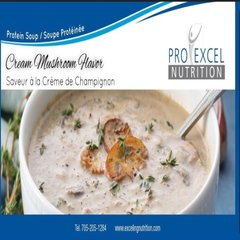 (167) PROEXCEL - CREAM OF MUSHROOM SOUP IN A CUP -UNRESTRICTED