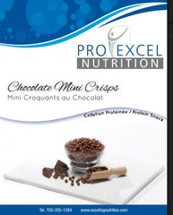 (030) PROEXCEL Chocolate Mini Crisps - - - Unrestricted - (7 Servings)