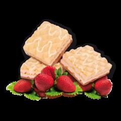 (005021)   Strawberry Wafers