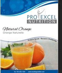 (144) ProExcel Natural Orange Drink - - - GLUTEN FREE - - - UNRESTRICTED