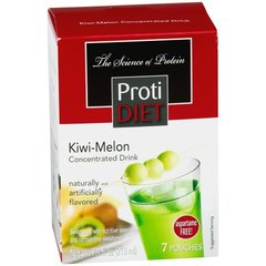 (351728) ProtiDiet Liquid Concentrate - Kiwi-Melon (7/Box) = ALTERNATIVE TO IDEAL PROTEIN --- UNRESTRICTED - - - GLUTEN FREE!!