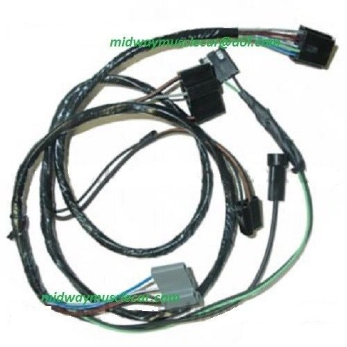 engine a  c control wiring harness 69