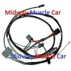 buick electrical wiring harness midway muscle car a c air conditioning wiring harness 69 72 buick gran sport skylark gs 350