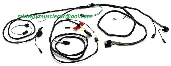 front end light forward lamp wiring harness 65 ford