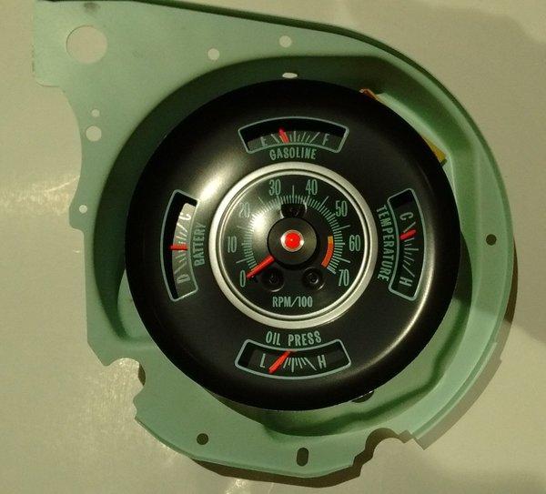 Tachometer & Dash Gauge 69 Chevy Chevelle Malibu El Camino