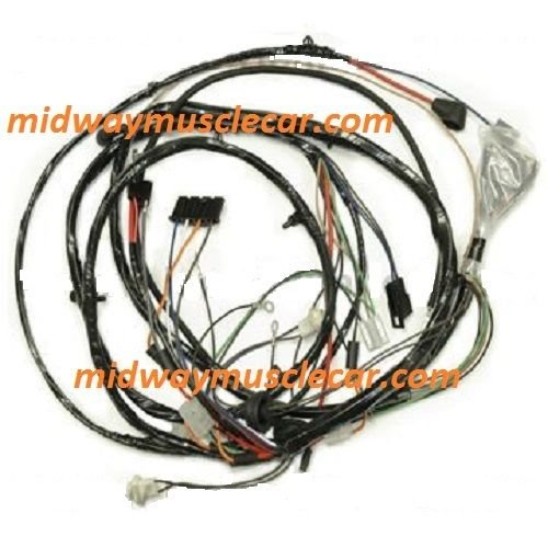front end headlight headlamp light wiring harness 68 chevy. Black Bedroom Furniture Sets. Home Design Ideas