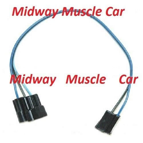 Windshield Wiper Switch Extension Wiring Harness 66 Chevy