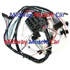 oldsmobile electrical wiring harness midway muscle car dash wiring harness 69 oldsmobile cutlass hurst olds 4 4 2 f85
