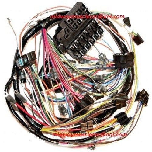 dash wiring harness 67 chevy corvette midway muscle car C3 Corvette Wiring Harness 85 Corvette Wiring Harness