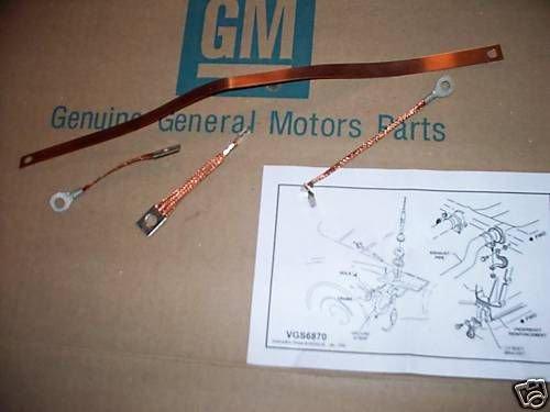 Ground Strap Set 63  Side Exhaust