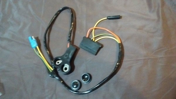 Voltage Regulator To Alternator Wiring Harness 70 Ford Mustang V8 With Tach