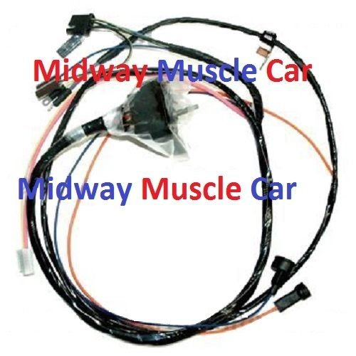 hei engine wiring harness 68 69 chevy chevelle 396 427. Black Bedroom Furniture Sets. Home Design Ideas