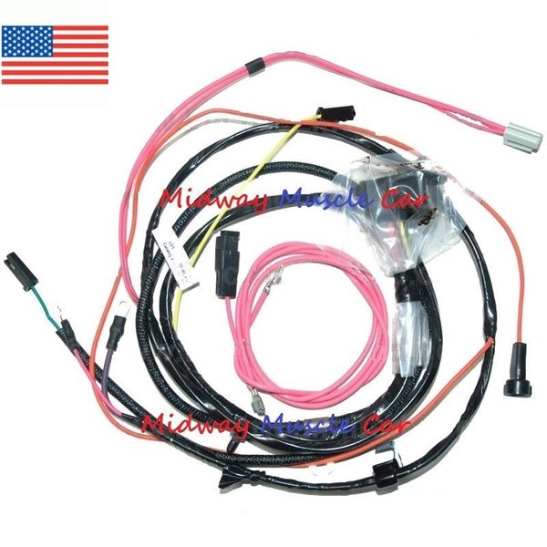 67 impala engine diagram 67 impala engine wiring hei engine wiring harness v8 65 66 chevy impala caprice ... #1